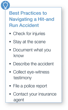 Best Practices to Navigating a Hit-and-Run Accident